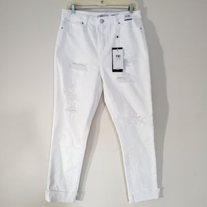 YMI Jeans Size 11/30 White High Rise Ankle